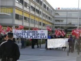 Los celadores del Infanta Leonor protestan por un ERE