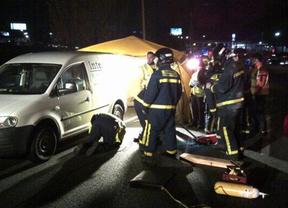 Muere un hombre atropellado por dos coches en la A-3