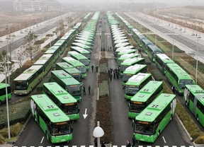 Panorámica de los autobuses interurbanos.