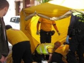 Heridos tres hombres en una reyerta en Cuatro Caminos