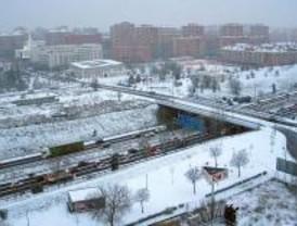 La nieve provoca 390 kilómetros de retenciones
