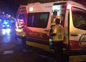 Herido muy grave al ser atropellado por un coche que iba en dirección contraria