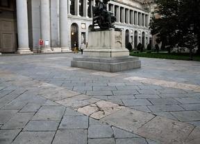 El Ayuntamiento remodelará las aceras de Prado-Recoletos de forma inmediata