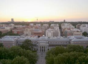 Vista aérea del Museo del Prado