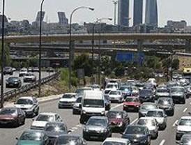 Normalidad en las carreteras madrileñas en el segundo día de la operación salida