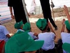 Menores tutelados se van de vacaciones a campamentos urbanos y colonias
