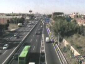 Una avería dificulta el tráfico en Madrid norte