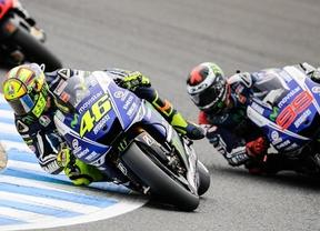 Rossi y Lorenzo se disputarán el segundo puesto del Mundial en Valencia
