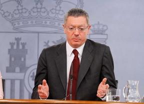 Alberto Ruiz Gallardón ministro de Justicia.