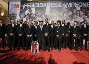 El Real Madrid pasea 'la décima'