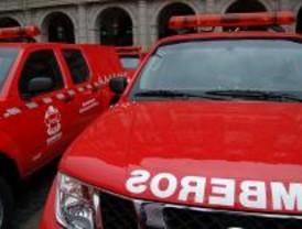 Los bomberos de la Comunidad reciben formación en conducción extrema