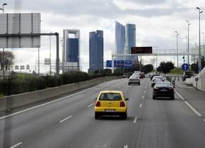 A1 a la entrada a Madrid