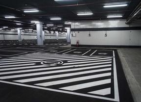 Metro 'resucita' el aparcamiento de Nuevos Ministerios