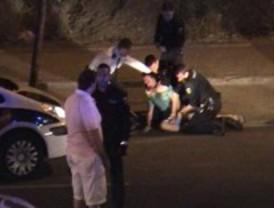 Atacan a cuatro policías tras una persecución