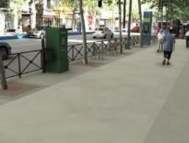 Finalizan las obras de los dos nuevos ejes peatonales de Tetuán