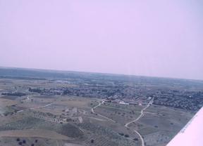 El aeródromo del Suroeste, desde el aire