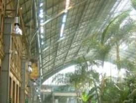 Nueva climatización al jardín de Atocha