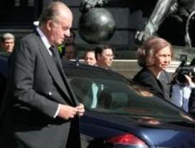 La Familia Real despide con emoción a Calvo-Sotelo