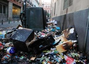 La huelga de limpieza en Madrid cumple su primera semana
