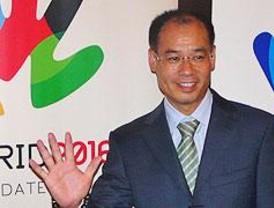 """Li Ning: """"Espero que Madrid gane los Juegos de 2016"""""""
