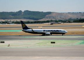 Ryanair espera transportar a 5 millones de personas en sus rutas en Madrid