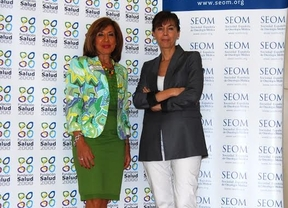 Carmen González Madrid (izquierda) y Pilar Garrido