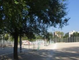 El campo de fútbol de Vía Lusitana, sin luz
