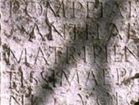 Una base de datos en la red sobre epigrafía antigua repasa nuestro pasado romano