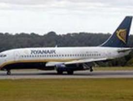 Ryanair protagoniza un nuevo aterrizaje forzoso