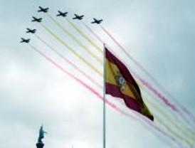 Todo el desfile militar, en Madridiario
