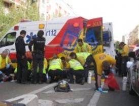 Muere atropellada en el distrito de Chamartín