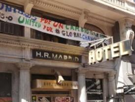 La empresa propietaria del Hotel Madrid denuncia la 'okupación' del recinto