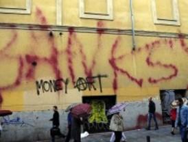 El misterio de un 'grafiti Banksy' en Madrid