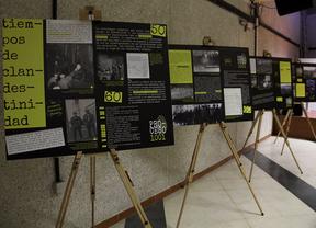 Homenaje a los tiempos de clandestinidad de CCOO