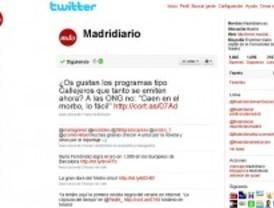 Madrid lidera el uso de Twitter en España