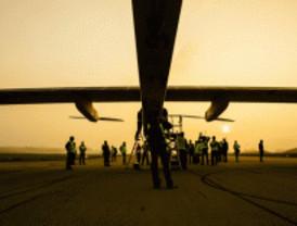 Despega de Madrid el primer avión solar tripulado