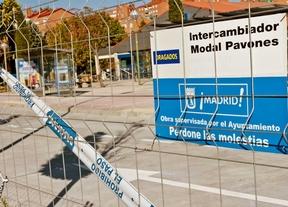 Concluyen las obras en el área intermodal de Pavones