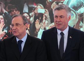 Florentino Pérez despide a Carlo Ancelotti como entrenador del Real Madrid