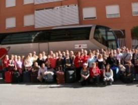 Más de 1.400 mayores de Parla se van de vacaciones con el Ayuntamiento de la ciudad