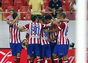 Diego Costa da la victoria al Atleti en el Pizjuán