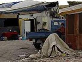 Desalojo en el poblado chabolista de El Cañaveral