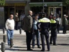 Dispositivo policial en Leganés por las elecciones europeas