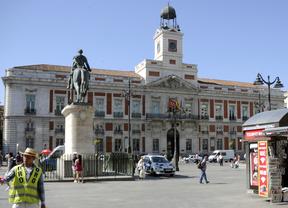 ,Real Casa de Correos, en la Puerta del Sol