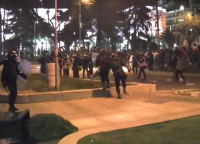 101 heridos y 24 detenidos en los disturbios posteriores a las 'Marchas de la Dignidad'