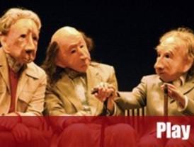Teatro gestual con las máscaras de la Familie Flöz