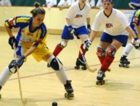 Victoria del Club Hockey patines femenino de Alcorcón a la selección de Estados Unidos