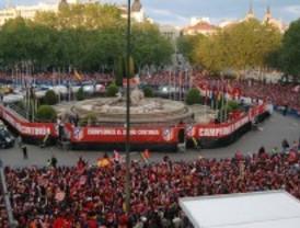 Neptuno será vallada por la posible victoria del Atlético de Madrid
