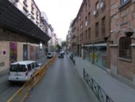 La calle Hortaleza quedará cortada al tráfico este domingo por el desmontaje de una grúa-torre