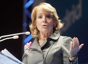 Esperanza Aguirre, presidenta del PP en Madrid