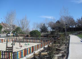 Termina la remodelación del parque Los Jarales de Las Rozas